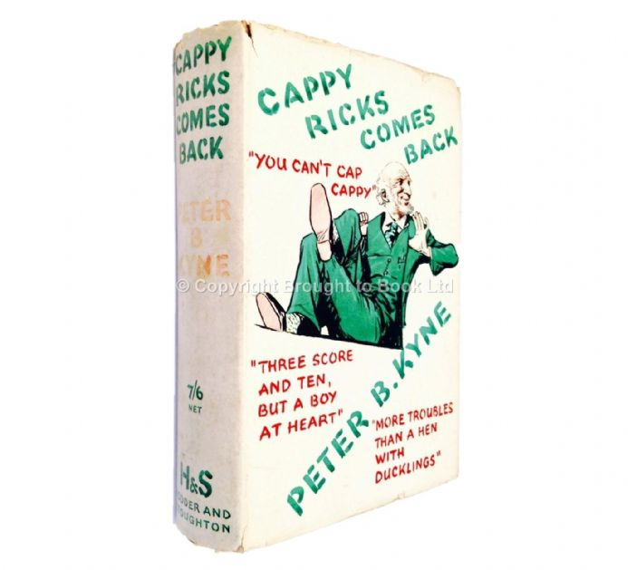 Cappy Ricks Comes Back by Peter B Klyne First Edition Hodder & Stoughton 1934